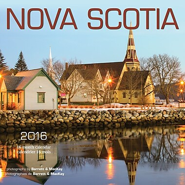 2016 BrownTrout Publishers 12-Month Wall Calendar, Nova Scotia, 7