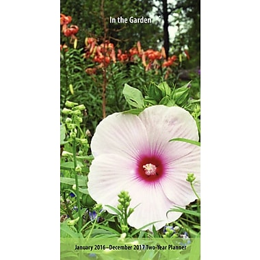 2016 BrownTrout Publishers 2 Year Pocket Planner, In the Garden, English