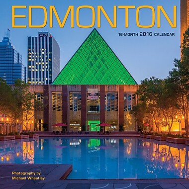 2016 BrownTrout Publishers 12-Month Wall Calendar, Edmonton, 12