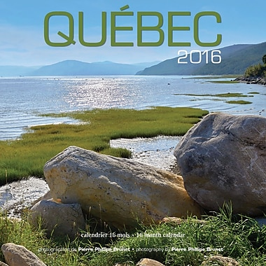 2016 BrownTrout Publishers 12-Month Wall Calendar, Quebec, 7