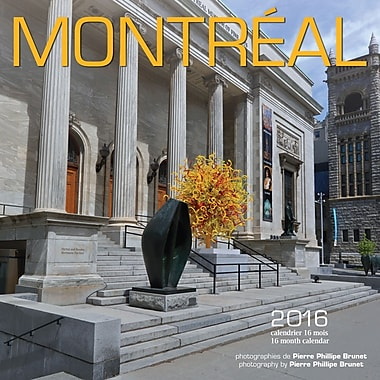 2016 BrownTrout Publishers 12-Month Wall Calendar, Montreal, 7