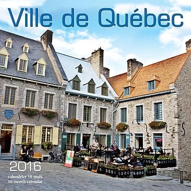 2016 BrownTrout Publishers 12-Month Wall Calendar, Ville de Quebec, 12