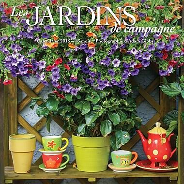 2016 BrownTrout Publishers 12-Month Wall Calendar, Les Jardins De Campagne, 7