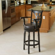 Home Loft Concept Jennings 30.5'' Bar Stool; Espresso