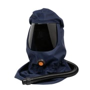 Sundstrom Safety Loose-Fitting Hood for PAPR SR 500, SR 530, Long, Medium/Large, Blue (H06-0421)