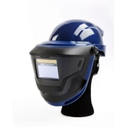 Sundstrom Safety Hard Hat with Welding Shield for PAPR SR 500, SR 580/584, One Size, Blue (H06-8321)
