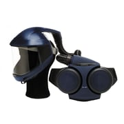 Sundstrom Safety PAPR Kit Complete with Face Shield, SR 500/540, One Size, Blue (H06-0721)