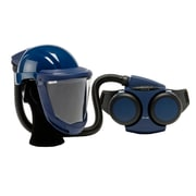Sundstrom Safety PAPR Kit Complete with Hard Hat, SR 500/580, One Size, Blue (H06-8121)
