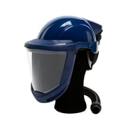 Sundstrom Safety Hard Hat with Visor for PAPR SR 500, SR 580, One Size, Blue (H06-8021)