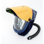 Sundstrom Safety Hard Hat with Gold Visor for PAPR SR 500, SR 580/587, One Size, Blue (H06-8521)