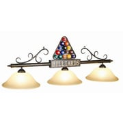 RAM Game Room 3 Light Rack Billiard Light