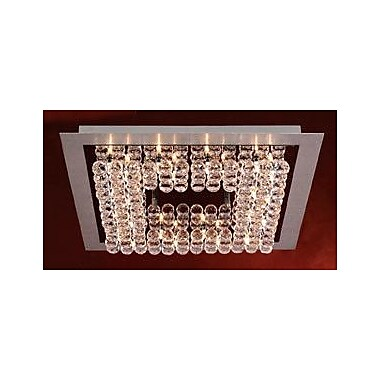 PLC Lighting Petula 24-Light Semi Flush Mount