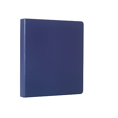 Staples® Standard Binder with D-Rings, 1/2