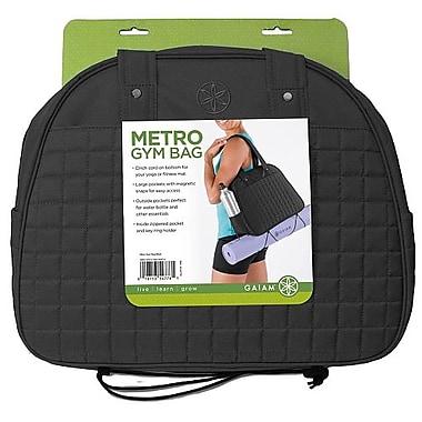 Gaiam® Metro Gym Bag, Black