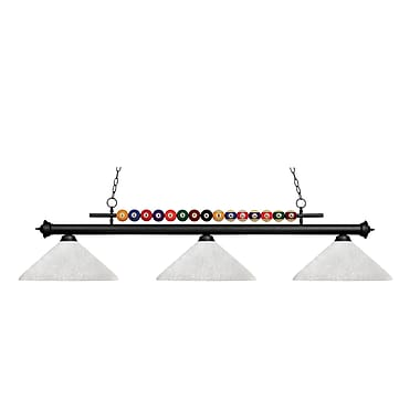 Z-Lite Shark 3-Light Billiard Light