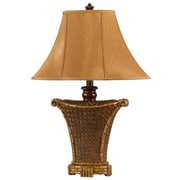 Cal Lighting Danbury 30'' H Table Lamp with Bell Shade
