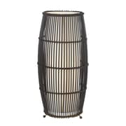 Cal Lighting Rattan 18.75'' H Table Lamp with Novelty Shade