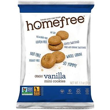 HomeFree Vanilla Mini Cookies Gluten Free, 60/Pack