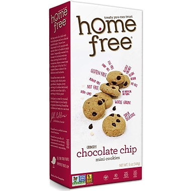 HomeFree Cookie Gluten Free Mini Double Chocolate Chip 5 Oz., 12/Pack