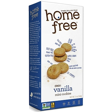 HomeFree Mini Crunchy Vanilla Cookies 5 Oz., 12/Pack