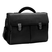 Royce Leather Royce Leather Executive 15'' Laptop Briefcase in Genuine Leather; Black