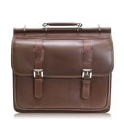 Siamod Manarola Signorini Leather Laptop Briefcase