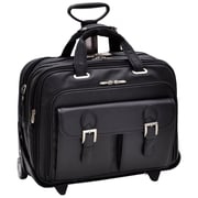 Siamod Vernazza Ceresola Leather Laptop Catalog Case; Black