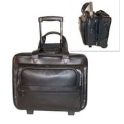 Stebco Business Leather Laptop Pilot Case