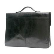 Tony Perotti Italico Leather Briefcase; Brown