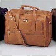 Winn International Cowhide Leather Briefcase; Cognac