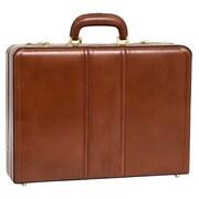 McKlein USA V Series Coughlin Laptop Leather Attache Case; Brown
