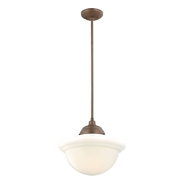Millennium Lighting Neo-Industrial 1 Light Pendant; Copper