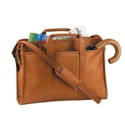 Royce Leather Royce Leather 15'' Laptop Briefcase; Tan