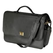 Royce Leather Royce Leather 15'' Laptop Briefcase Bag; Black