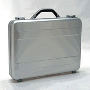 TZ Case Molded Attache Case; Silver
