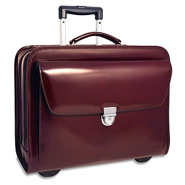 Jack Georges Elements Leather Laptop Catalog Case; Black