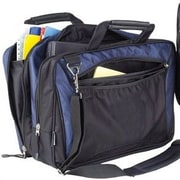 Preferred Nation Laptop Briefcase; Navy