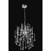 Elegant Lighting Astro 6 Light Crystal Chandelier