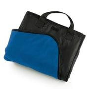Pro-Towels Fleece and Nylon Picnic Blanket; Royal Blue