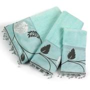 Popular Bath Products Avanti 3 Piece Towel Set; Aqua