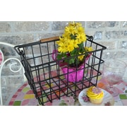 J & J Wire Square Wire Basket