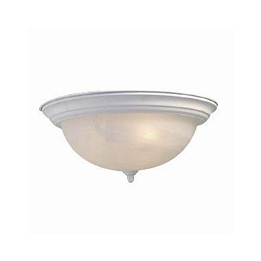 Woodbridge Basic 2 Light Flush Mount