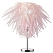 Dainolite Artis 25'' H Table Lamp with Novelty Shade; Pink