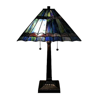 Warehouse of Tiffany Gothique 19'' Table Lamp