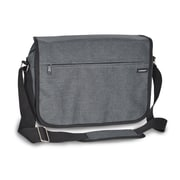 Everest Deluxe Laptop Briefcase; Charcoal
