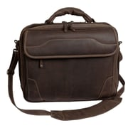 Canyon Outback Leather Dakota Pines Leather Briefcase; Brown