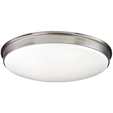 Philips Perf Small Flush Mount - Energy Efficient; 5'' H x 23.5'' W