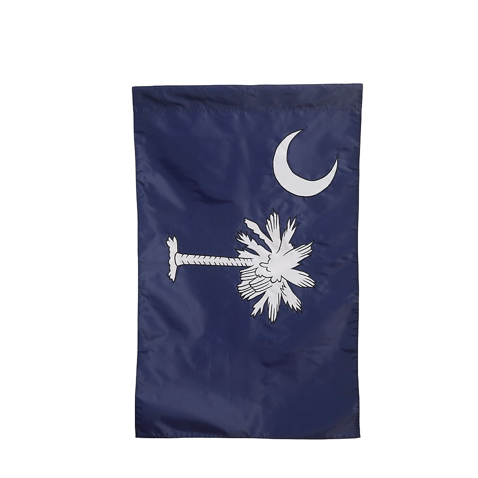 Evergreen Flag & Garden South Carolina Vertical Flag; 43 H x 29 W