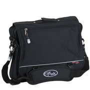 CalPak Soft Briefs Negotiator Briefcase; Black