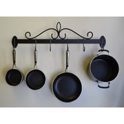 J & J Wire Wall Pot and Pan Rack